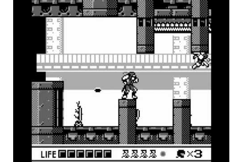 Game Boy Longplay [025] Ninja Gaiden Shadow - YouTube
