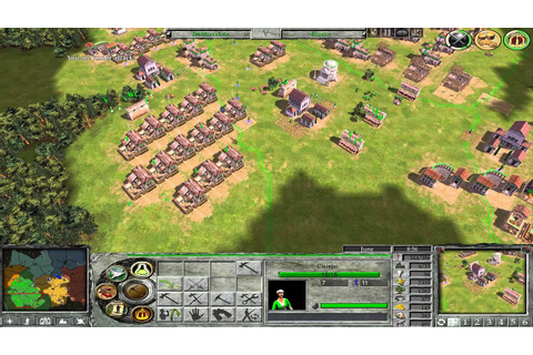 Empire Earth II Multiplayer Gameplay epochs 5-5, 3 vs 3 ...