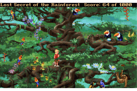 EcoQuest 2 - Lost Secret of the Rainforest | Old DOS Games ...