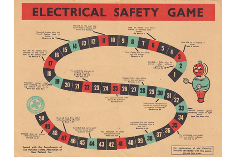 Electrical Safety Game - Board | kiwigame | Flickr