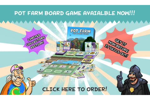 The Pot Farm Game Online | GamesWorld