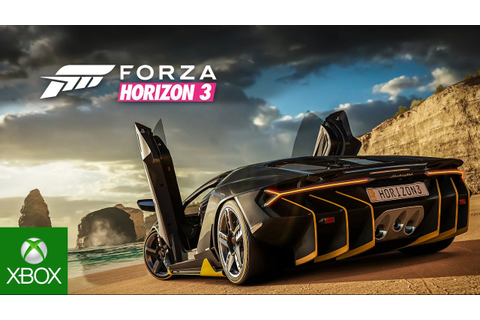 Forza Horizon 3 - Trailer oficial E3 - YouTube