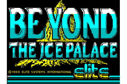 Beyond the Ice Palace (1988) by Elite ZX Spectrum game