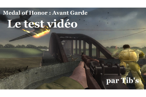 CHRONIQUE RETRO #1 : Medal of Honor : Avant Garde sur ...