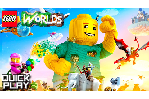 LEGO Worlds Gameplay - First 20 Minutes! (Quick Play ...