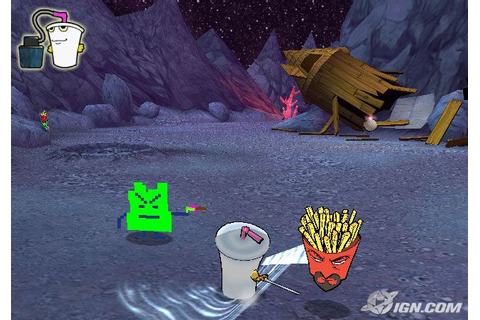 Aqua Teen Hunger Force Zombie Ninja Pro-Am Screenshots ...