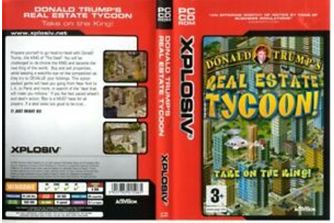Donald Trump's Real Estate Tycoon PC CD-ROM GAME SEALED ...