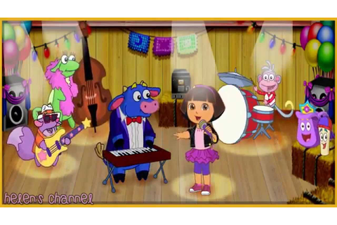 DORA THE EXPLORER - Dora's Sing Along Party Game | Dora ...