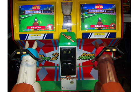 FINAL FURLONG 2 HORSE RACING ARCADE GAME NAMCO Item is in ...