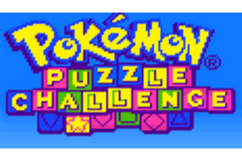 Test de Pokemon Puzzle Challenge sur Game Boy Color ...