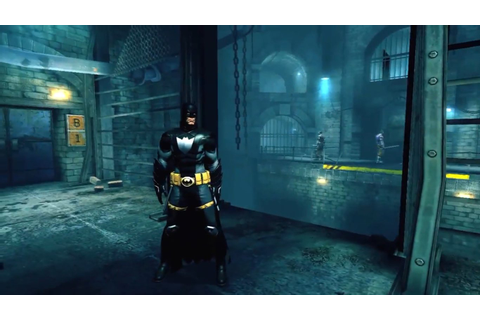 Batman: Arkham Origins Blackgate - Deluxe Edition Sneaking ...