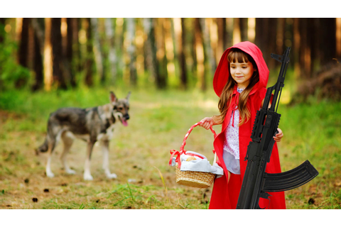NRA Uses Fairy Tales to Get Kids Guns