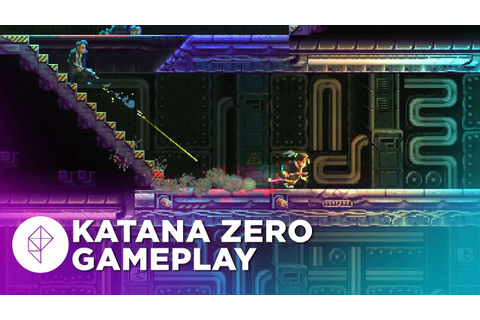 8 Minutes of Gameplay from Katana Zero — Hotline Miami ...