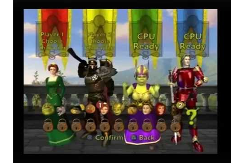 Shrek Super Slam PS2 Gameplay (Activision/Dreamworks ...