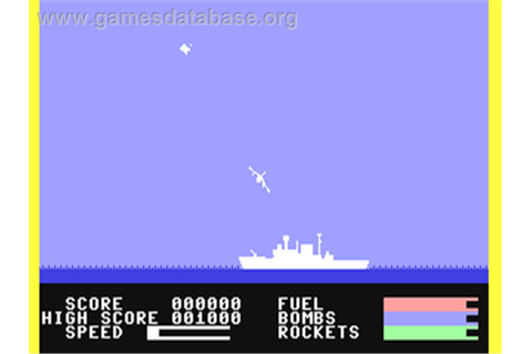 Harrier Attack - Commodore 64 - Games Database
