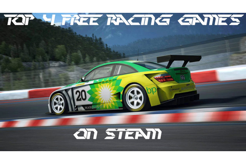 Top 4 Free Racing Games on Steam - YouTube
