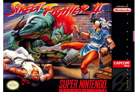 Street Fighter II: The World Warrior (SNES / Super ...