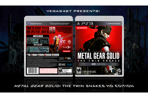 Metal Gear Solid: The Twin Snakes HD Edition PlayStation 3 ...