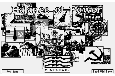 Download Balance of Power - My Abandonware