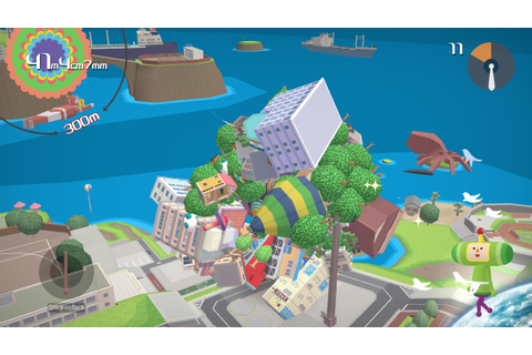 Katamari Damacy Reroll Review | Rock Paper Shotgun