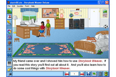 Download Storybook Weaver Deluxe 95 (Windows) - My Abandonware