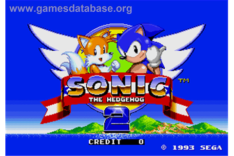 Sonic The Hedgehog 2 - Arcade - Games Database