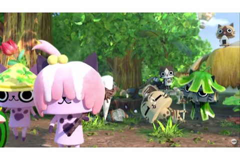 Monster Hunter Diary: Poka Poka Airou Village DX opening ...