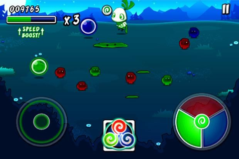 iPhone/iPad game of the day: Wispin - cute, colorful ...