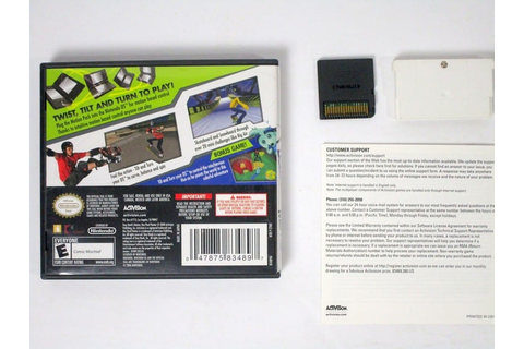 Tony Hawk Motion game for Nintendo DS (Complete) | The ...