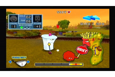 Game Review - Aqua Teen Hunger Force Zombie Ninja Pro Am ...