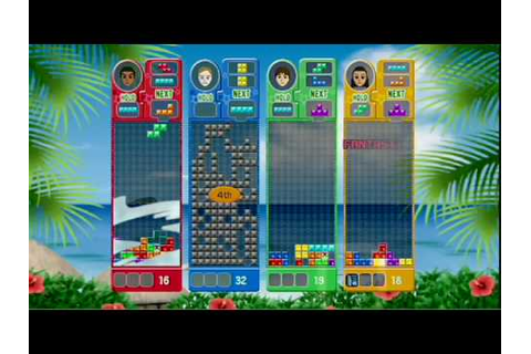 Tetris Party Deluxe (Wii) Trailer - YouTube