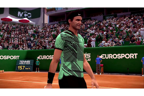 Tennis World Tour Xbox One X Gameplay Match Complet - YouTube