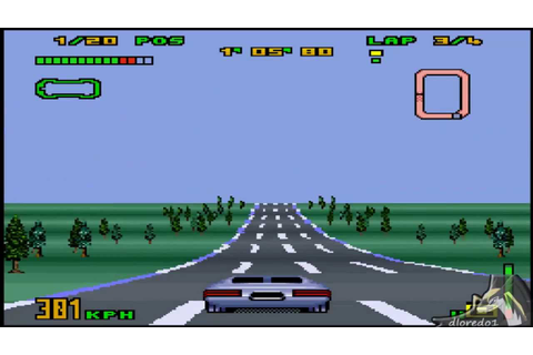 Gameplay - (SNES) Top Gear 3000 - System 1 - Merak - YouTube