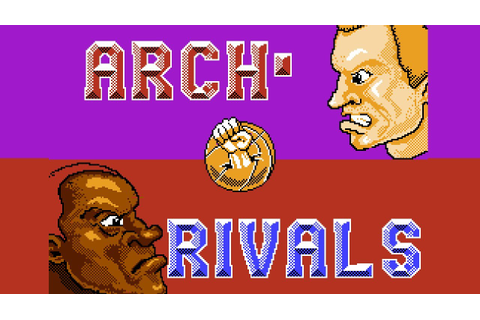 Arch Rivals - NES Gameplay - YouTube