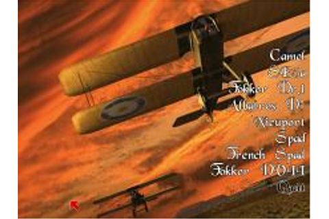 Flying Corps Gold Download (1997 Simulation Game)