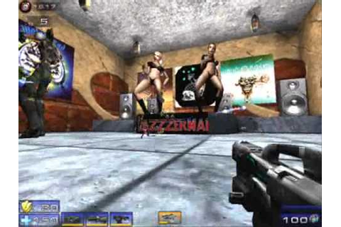 Postal Babes Dance there way in Unreal 2004 - YouTube