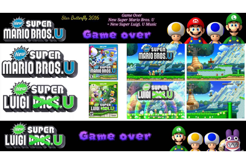 Game Over - New Super Mario Bros. U + New Super Luigi. U ...