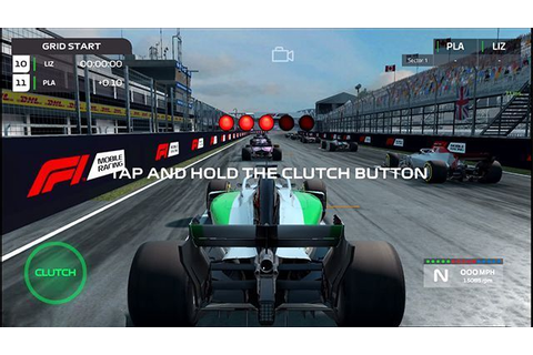 F1 Mobile Racing- The Game that lets you design your own ...