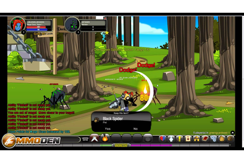 Adventure Quest Worlds Gameplay Review - Inside the Den HD ...