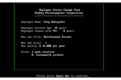 Executive Suite Download (1982 Simulation Game)
