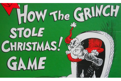 Dr Seuss's How the Grinch Stole Christmas! Game | Always ...