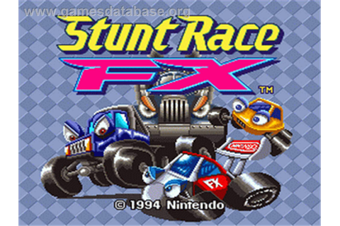 Stunt Race FX - Nintendo SNES - Games Database
