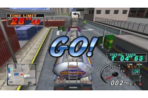 18 Wheeler: American Pro Trucker Game Sample - Dreamcast ...