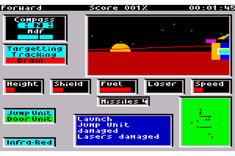 Academy: Tau Ceti II (1987) by CRL Amstrad CPC game