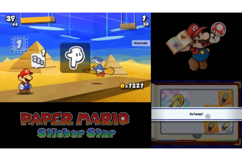 Let's Play Paper Mario: Sticker Star Part Closing: This ...