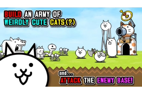 Tower Defense Game The Battle Cats Receives New Update ...