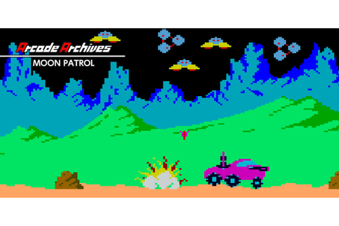 Arcade Archives MOON PATROL | Nintendo Switch download ...