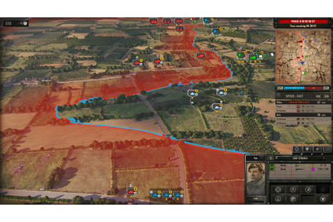 Steel Division: Normandy 44 - Dynamic Front Line
