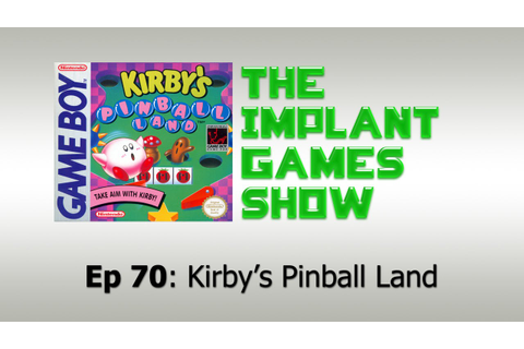 Kirby's Pinball Land Review (Game Boy) 60 fps - YouTube