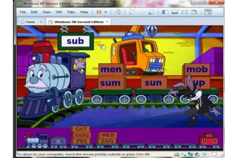 Reader Rabbit's Reading 1: Word Train Game, Level 2 - YouTube